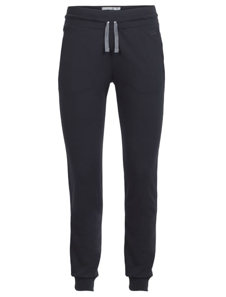 Icebreaker Crush Pants, W's, Black/Charcoal Black/charcoal(#313038) S