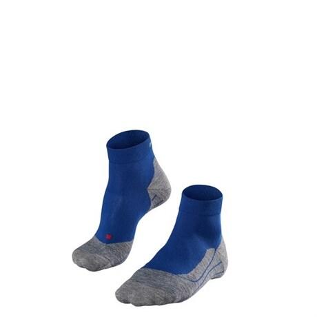 Falke RU4 Short, M's, Løpesokker Athletic Blue (#1F3D77, #6E6D72) 42-43