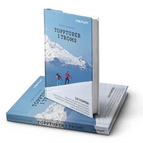 9788293090618 Toppturer i Troms, Espen Nordahl