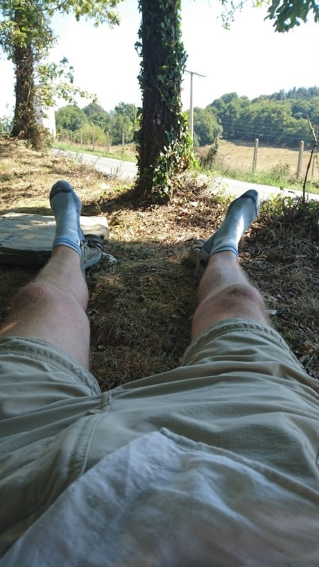 e6db31dd Bilde av sandalene etter 1600km. Se hvor bra sålen har holdt seg :)