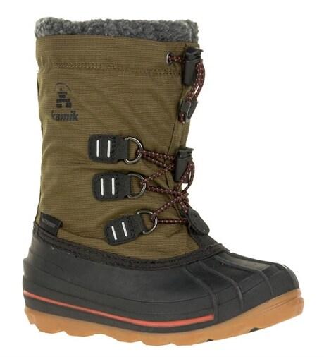 Vinterstøvler, vanntette, Blackyellow brown