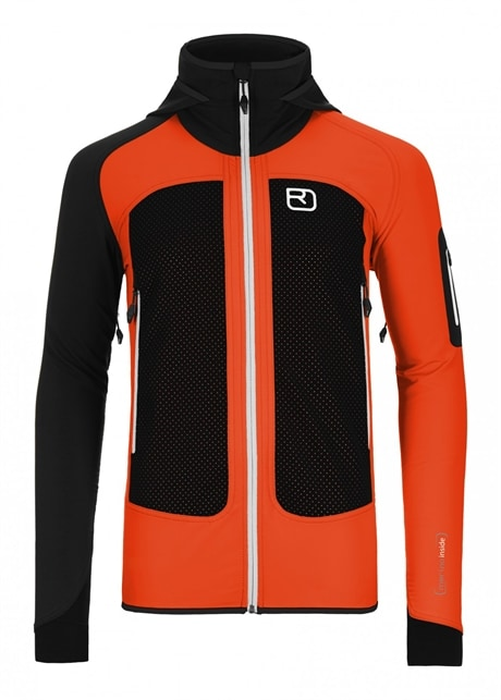 Ortovox Naturetec Light Col Becchei Jkt, M's, Crazy orange