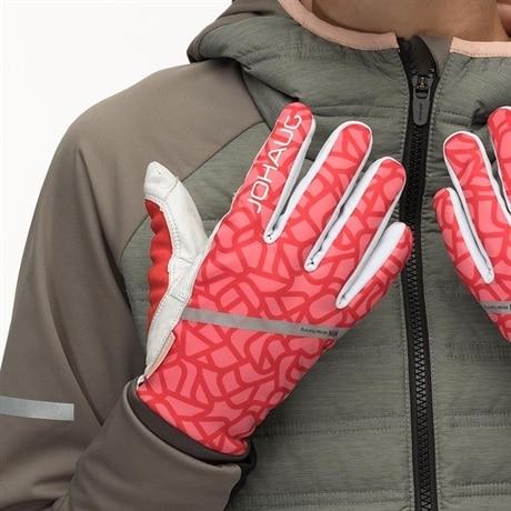 Johaug WIN Thermo Racing Glove VRed (#F95055) 6