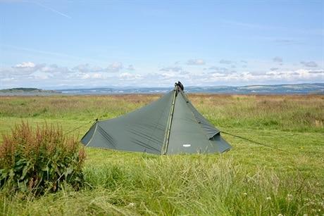 DD Hammocks SuperLight Tarp Tent Grønn(#3F5842)