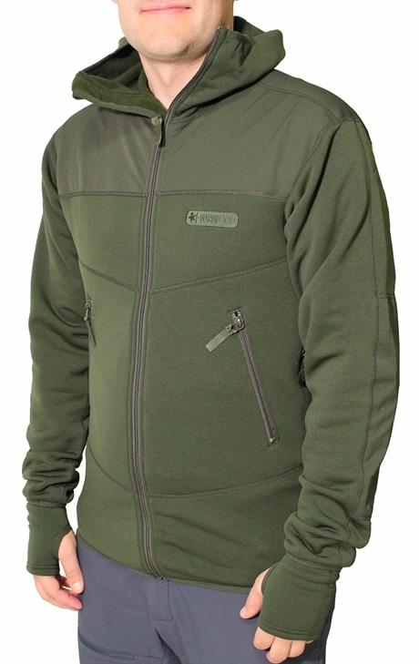 Warmpeace Jacket Sneaker Powerstretch Pro Alpine Green (#585D46) XXL