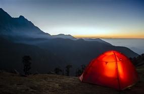Det fantastiske teltlivet! Hekta på tur