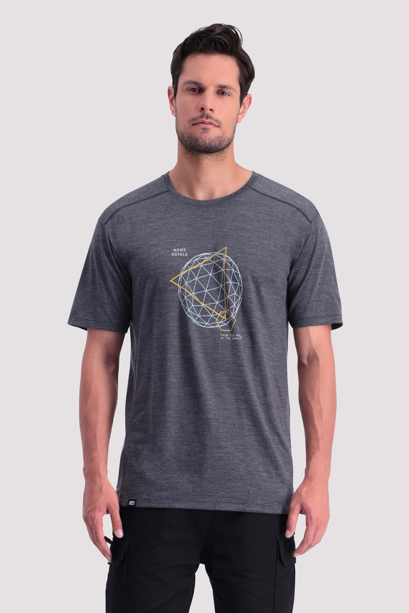 Mons Royale Huxley Hike T-Shirt M's
