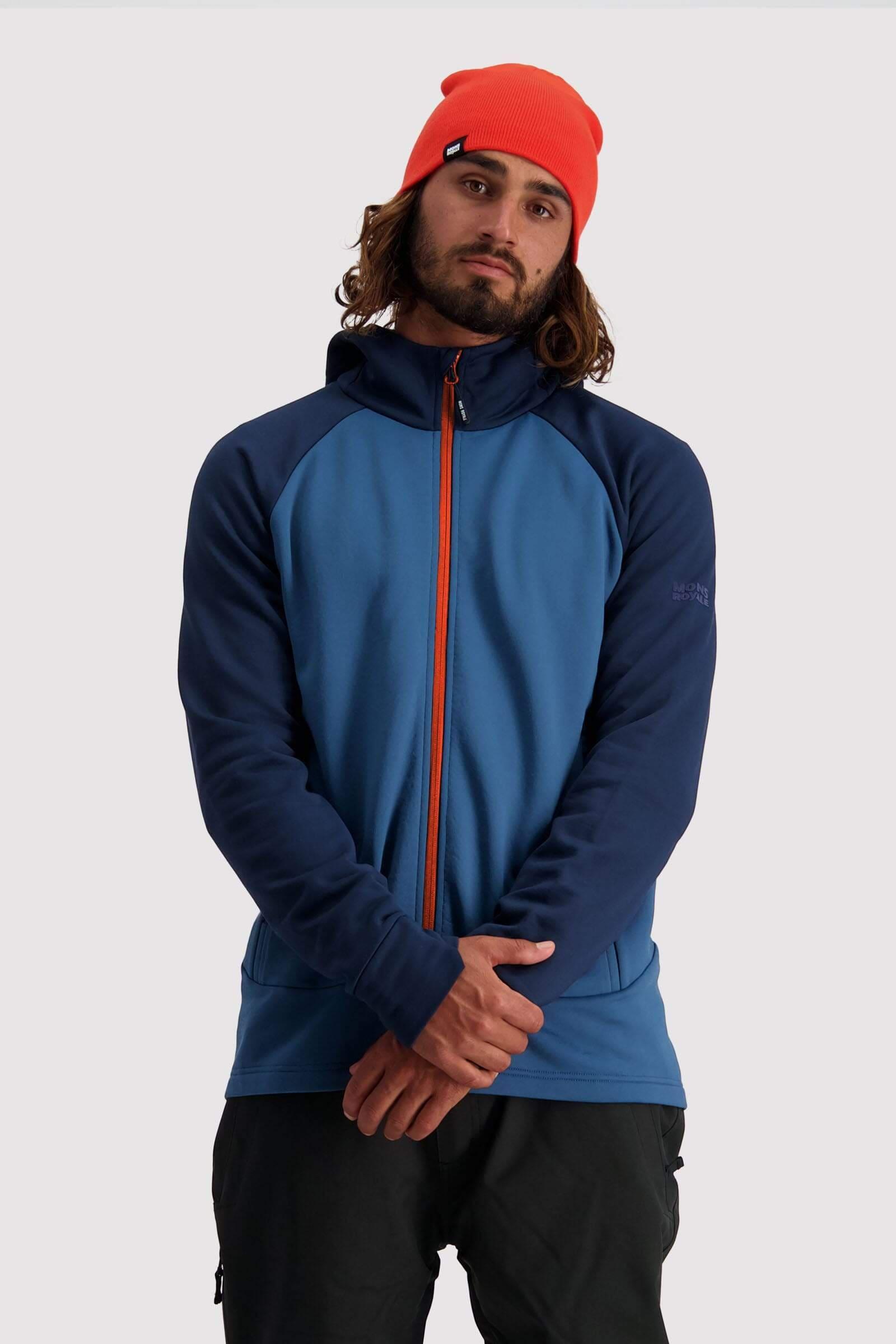 Mons Royale Nevis Wool Fleece Hood M's