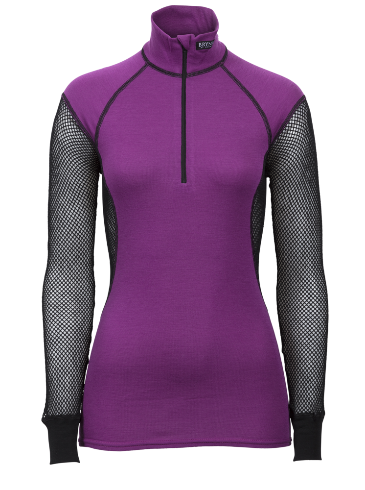 Brynje Lady Wool Thermo Zip Polo