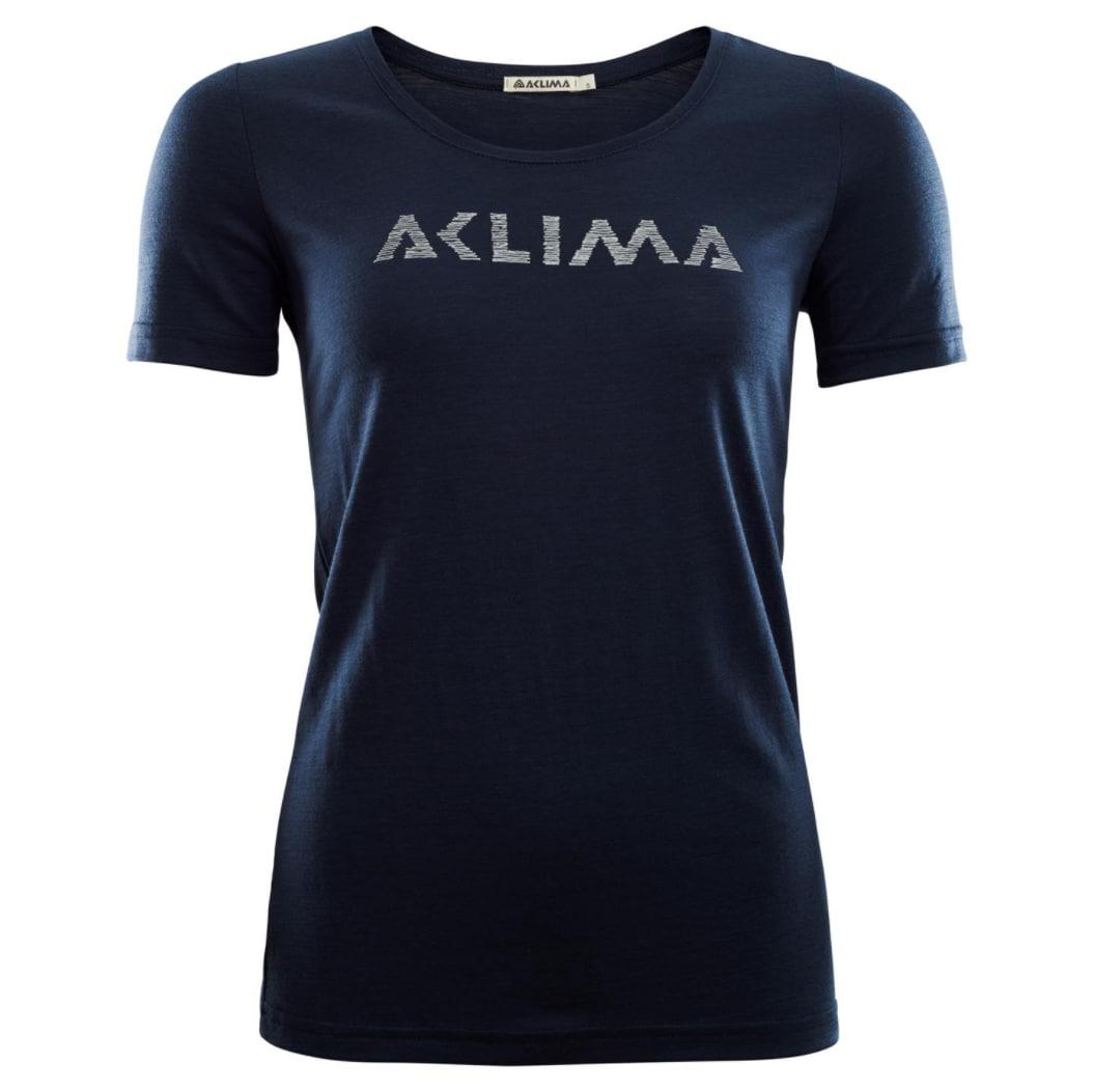 Aclima LightWool T-shirt Logo, W's