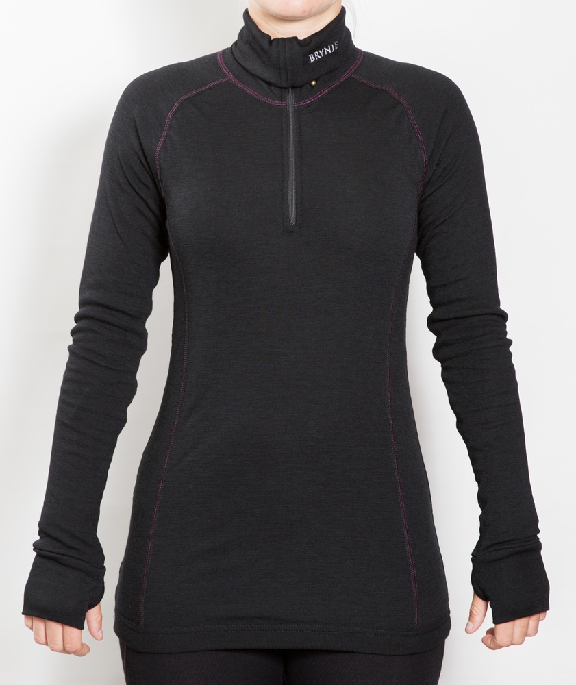 Brynje Lady Arctic Zip Polo w/thumblfingergrip