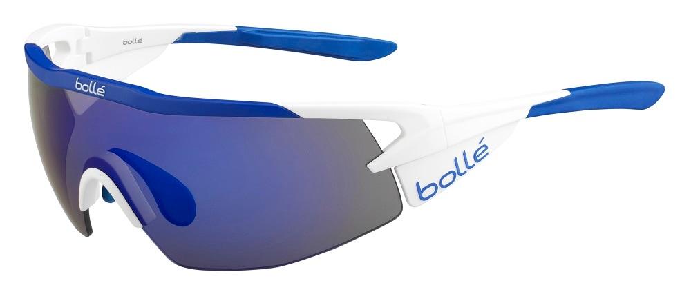 Bolle Aeromax Matte White-Blue (M)