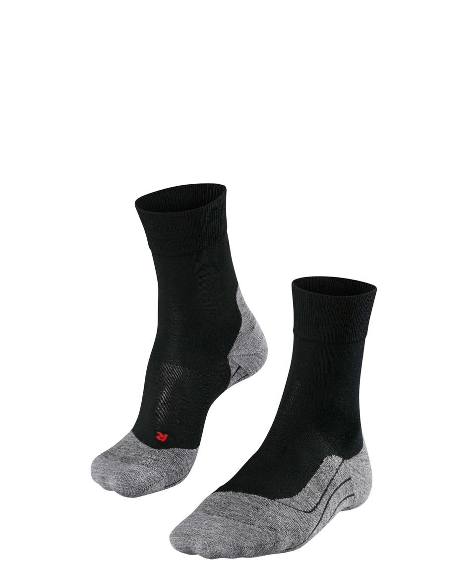 Falke RU4 Wool M's Løpesokker med Demping, Black Mix