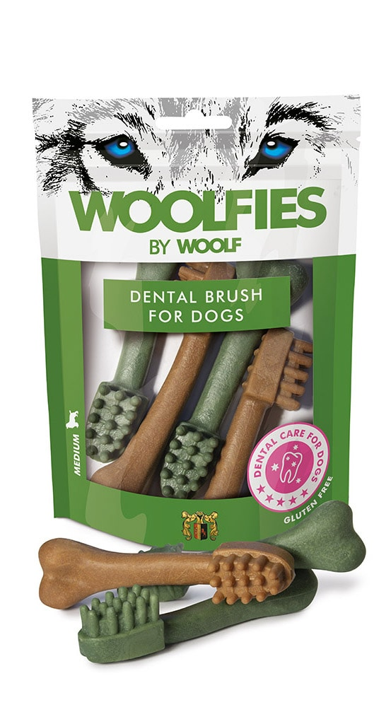 Woolfies Medium Dental Brush For Dogs