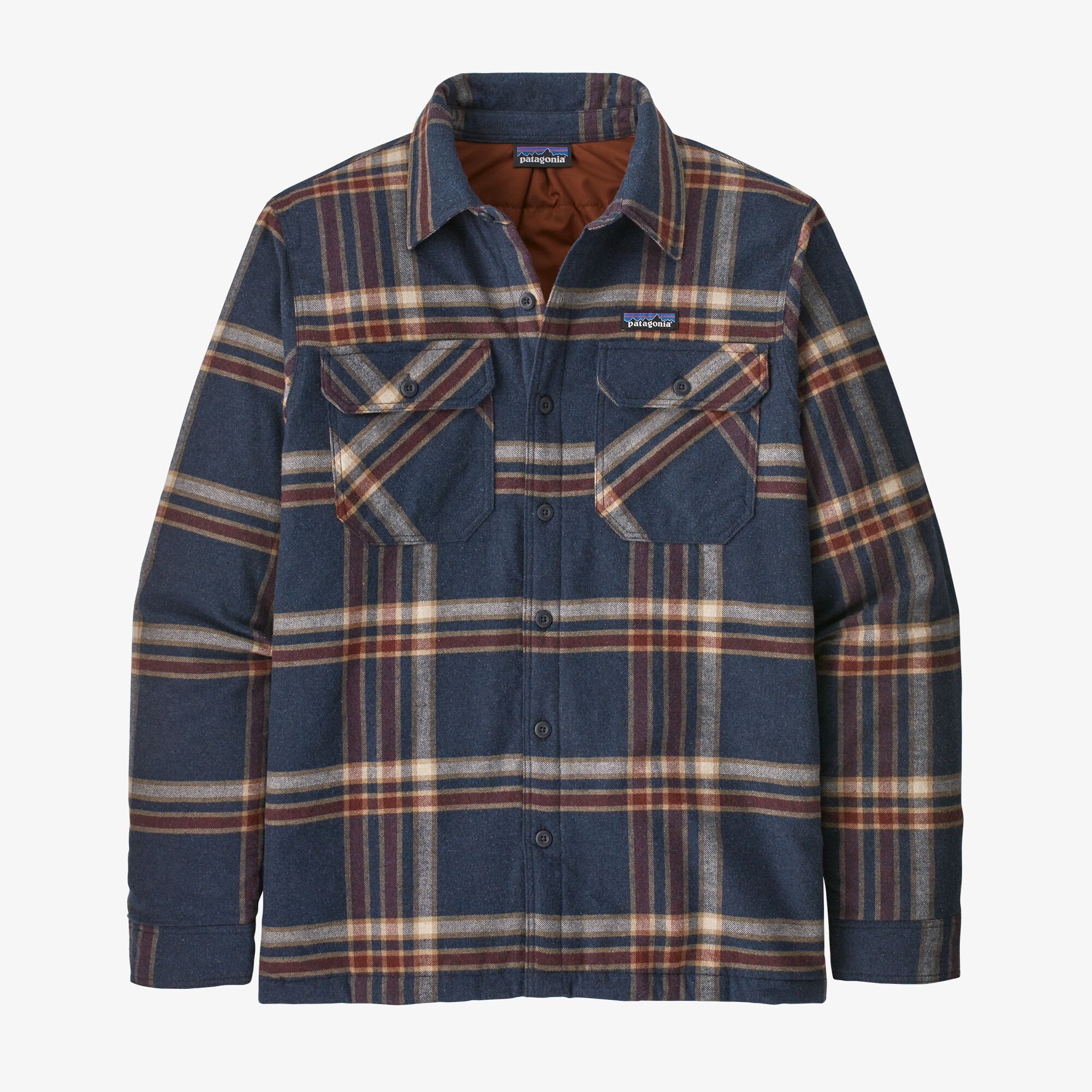 Patagonia Insulated Org Cotton MW Fjord Flannel Shirt, M's
