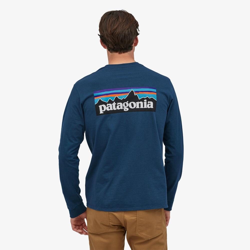 Patagonia L/S P-6 Logo Responsibili-Tee, M's