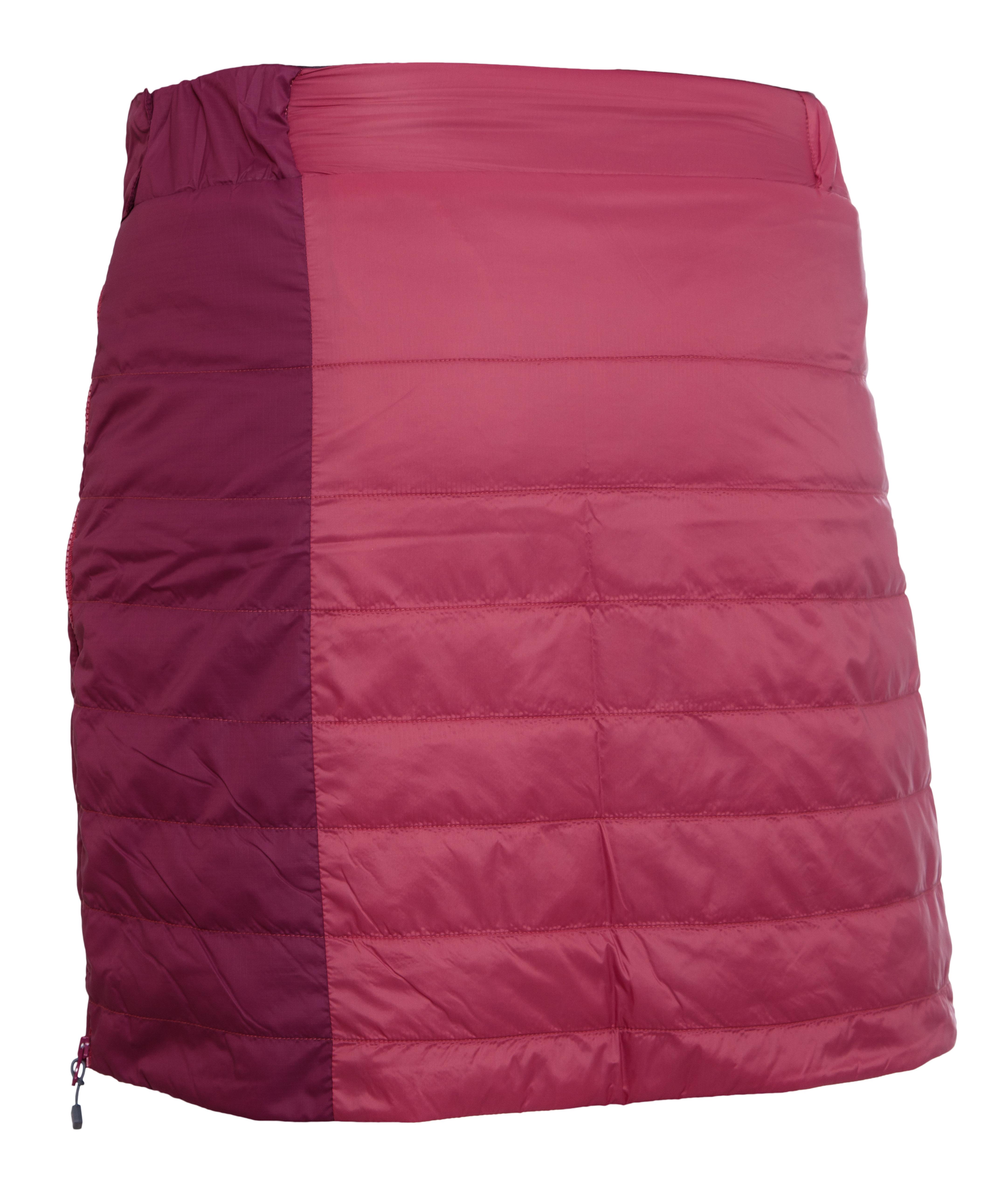4407 Shee skirt berry-plum-iron back