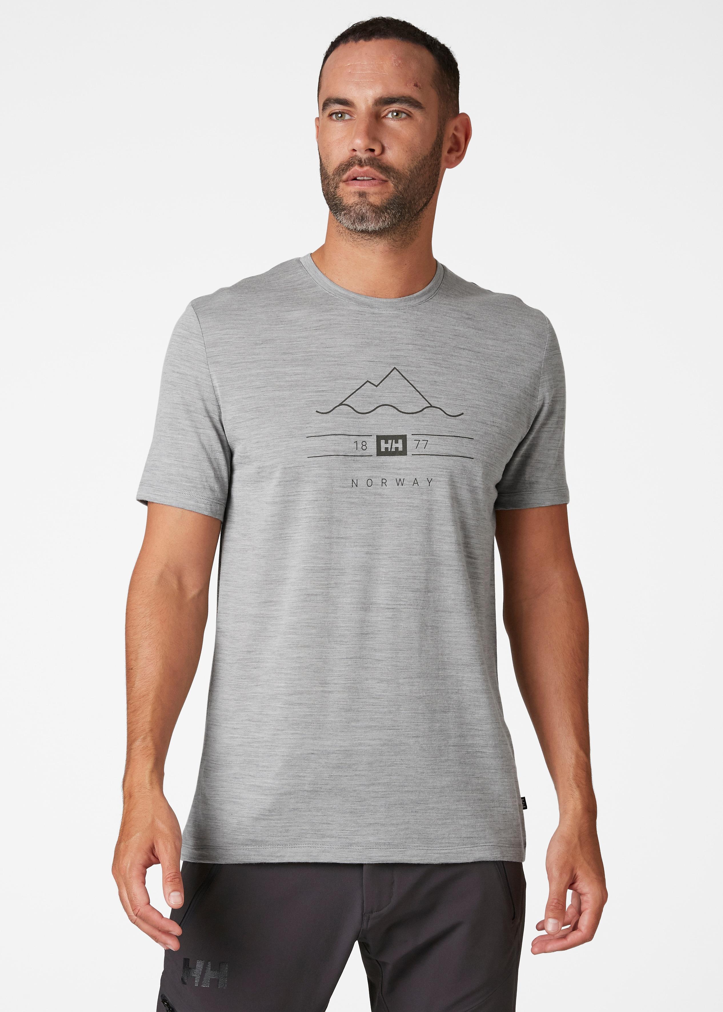 Helly Hansen Merino Graphic t-shirt, herre