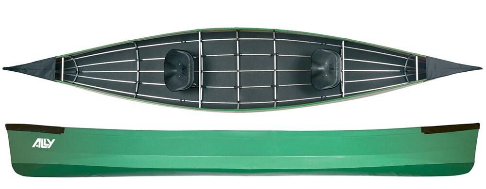 ALLY 15,5' DR kano, Grønn