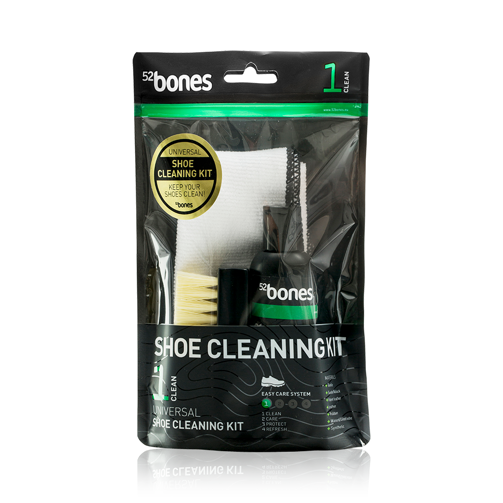 52Bones Shoe Cleaning Kit, skorengjøring
