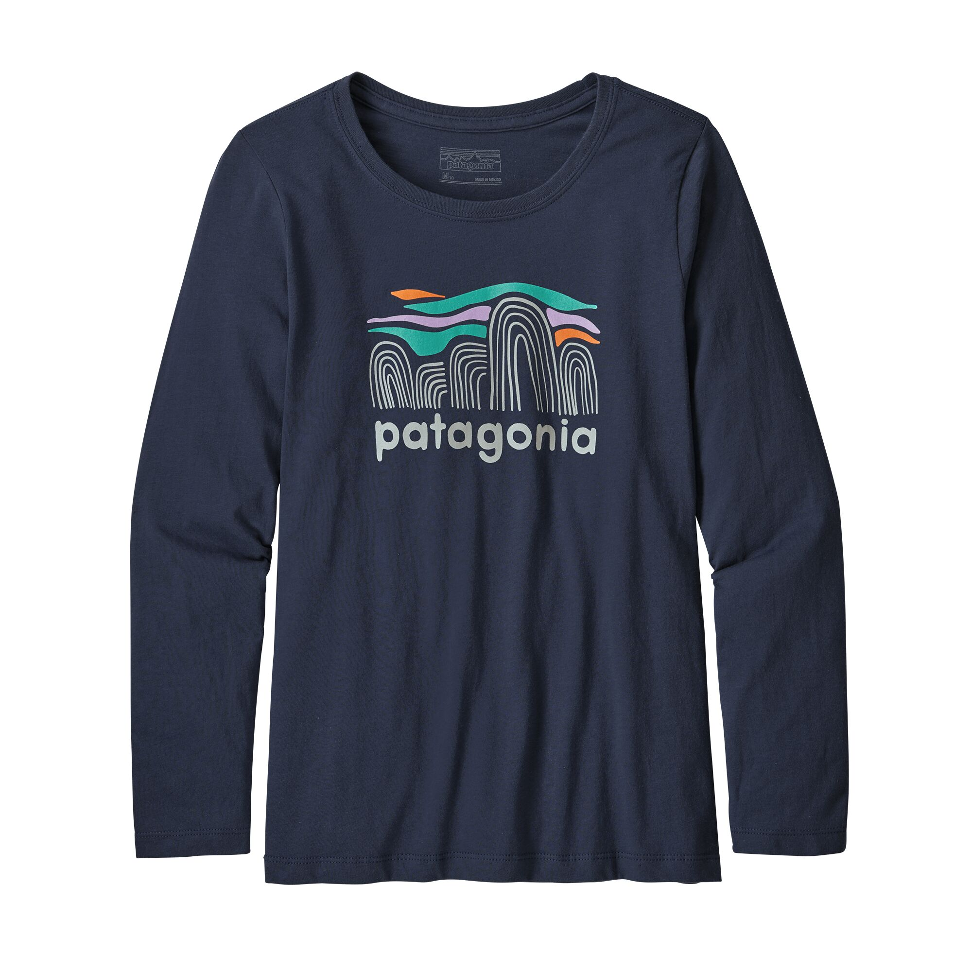 Patagonia Girls Long-Sleeved Graphic Organic T-Shirt