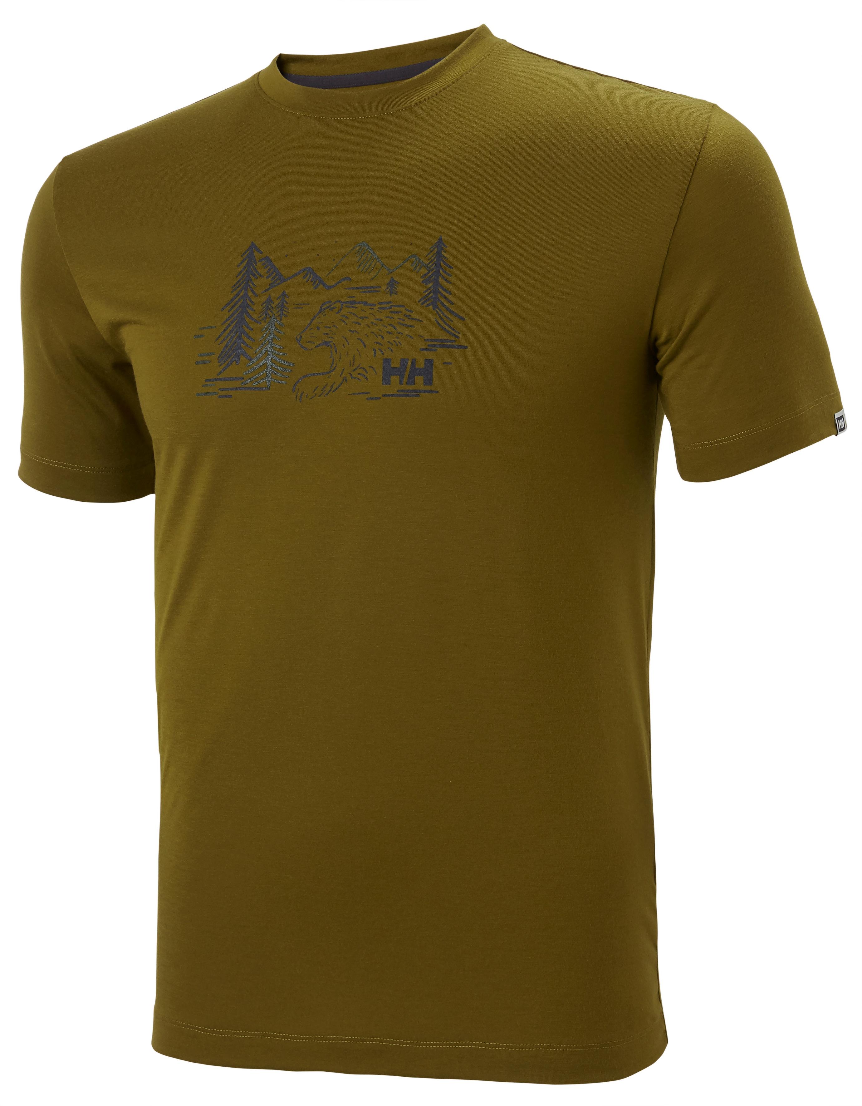 Helly Hansen Skog Graphic t-shirt, herre