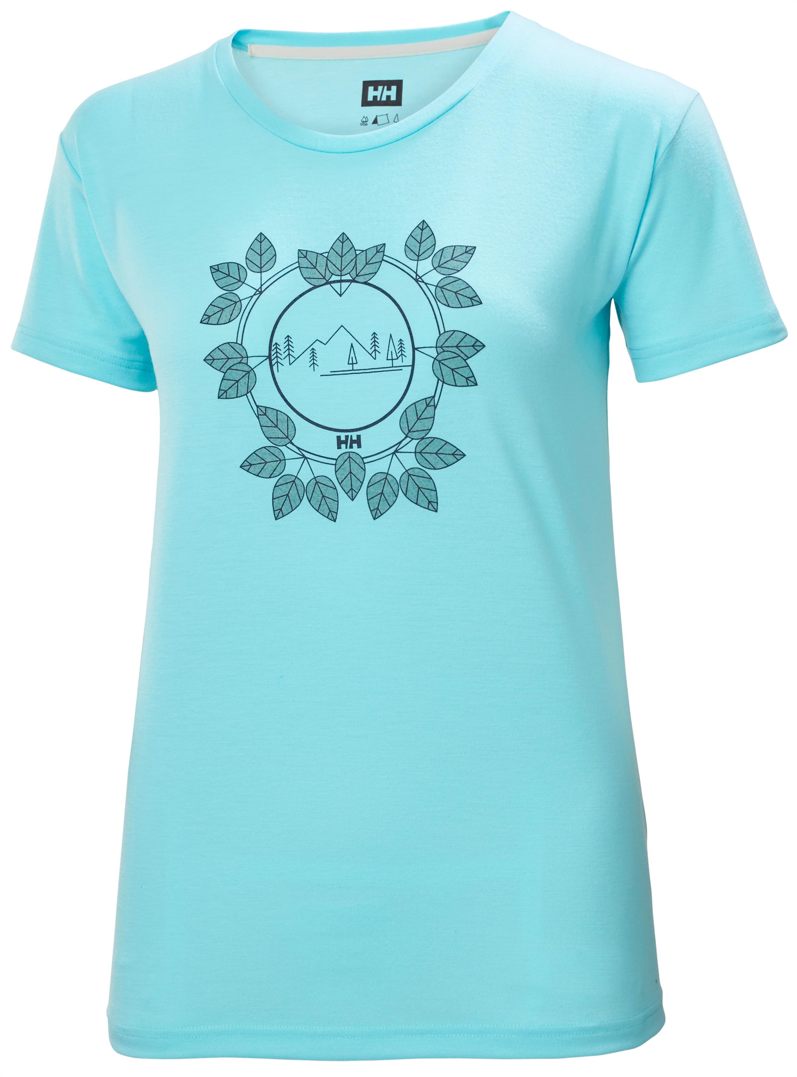 Helly Hansen Skog Graphic t-shirt, dame