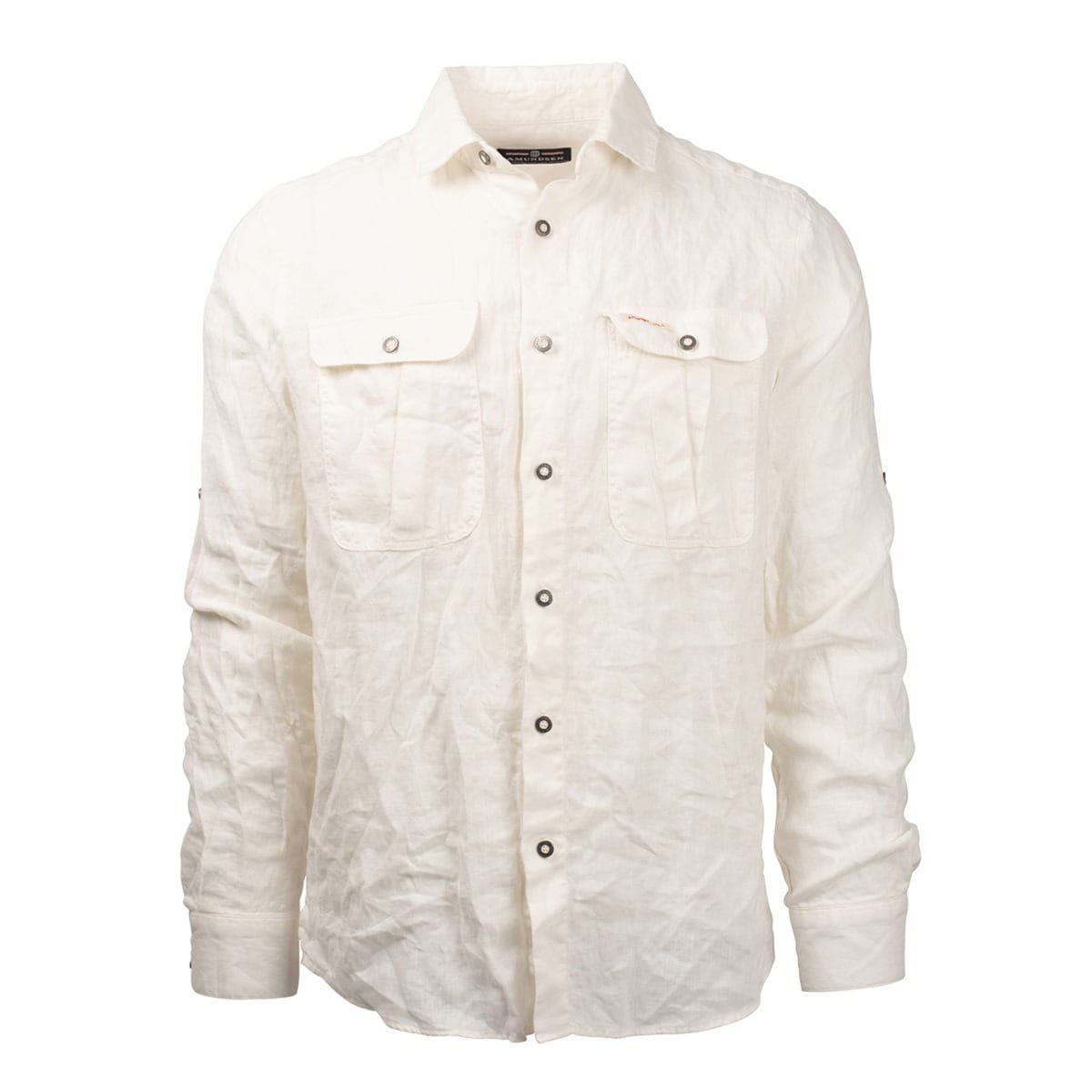 Amundsen Sports Safari Linen Shirt G. Dyed M's