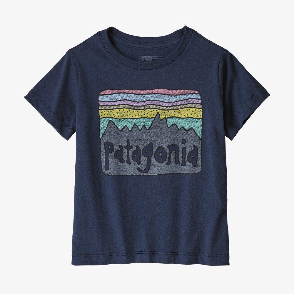 Patagonia Baby Fitz Roy Skies Organic T-Shirt