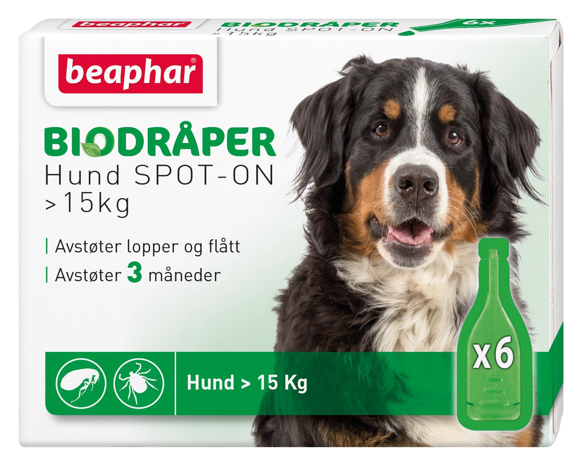 Beaphar Biodråper Spot-On Flått avstøter