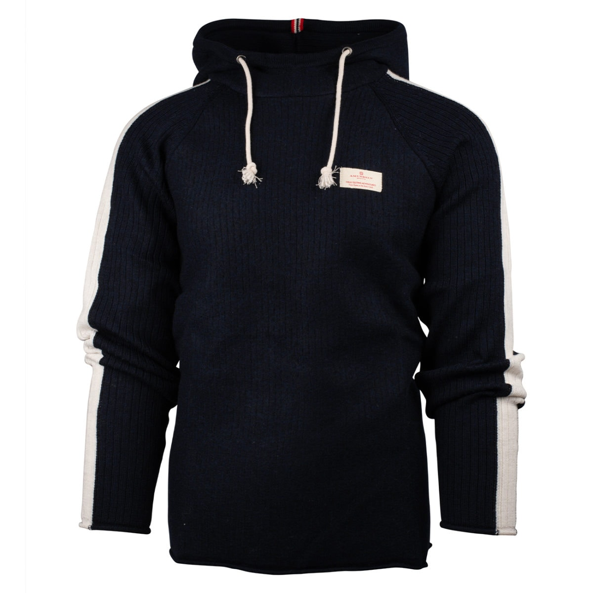 Amundsen Sports Boiled Hoodie Stripes, M's