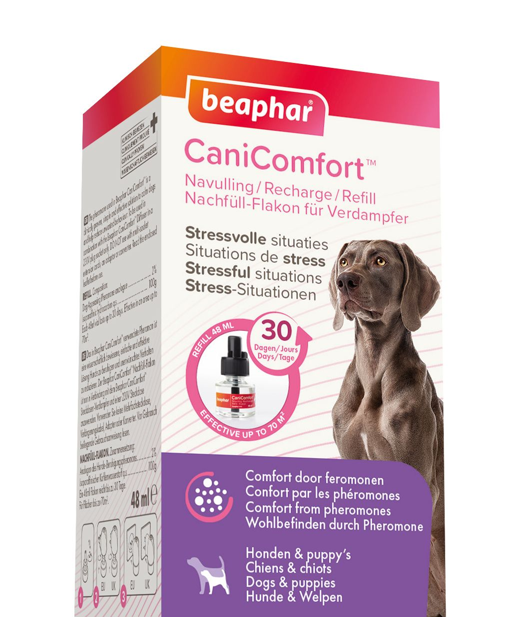Beaphar CaniComfort Diffuser 48ml Refil Hund