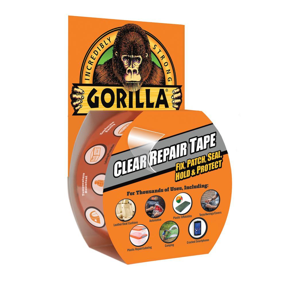 Gorilla Tape Clear Repair 8m