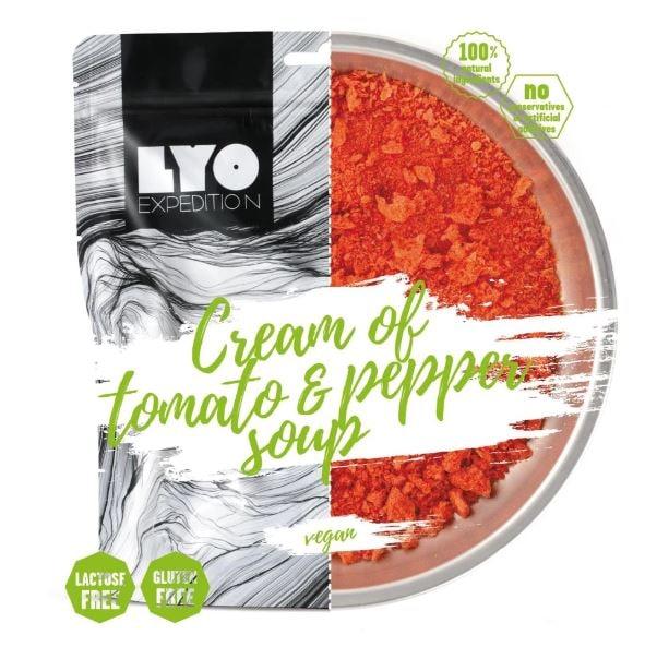 Kremet tomatsuppe