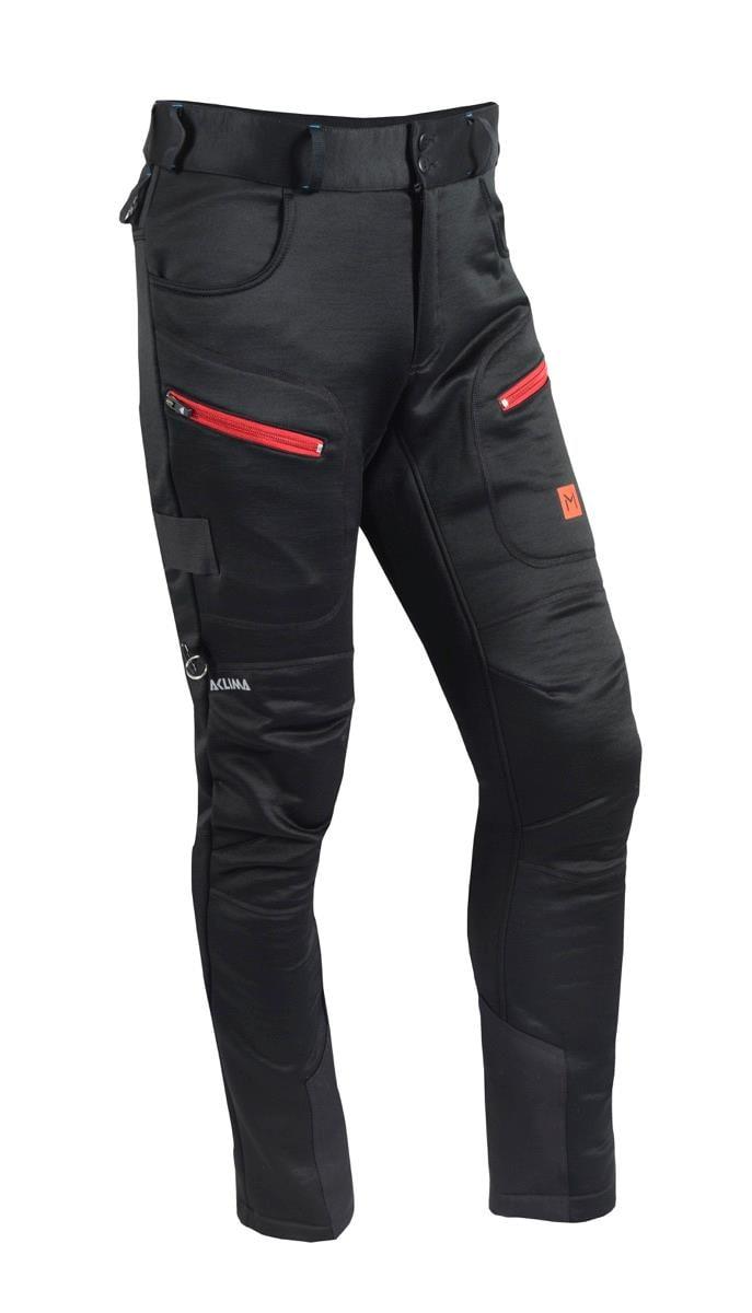 Aclima LM Anàrjohka WoolShell Pants, JetBlack, M's