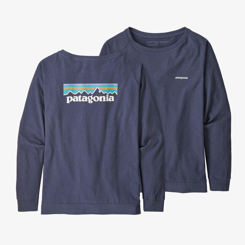 Patagonia L/S Pastel P-6 Logo Responsibili-Tee W's