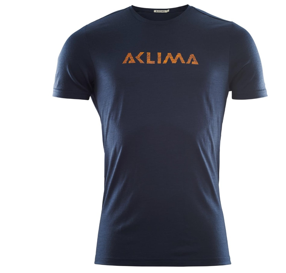 Aclima LightWool T-shirt Logo, M's