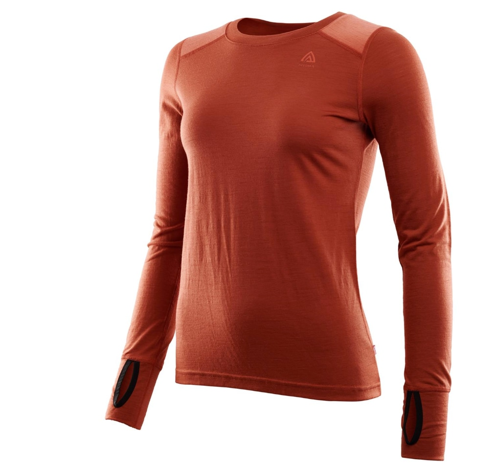 Aclima LightWool Reinforced Crew Neck, W's