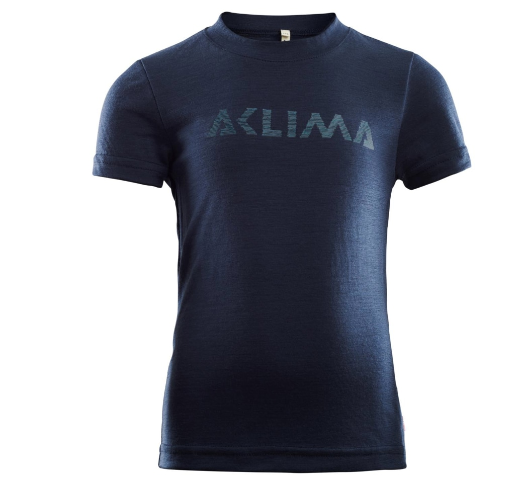 Aclima LightWool T-shirt Logo Children