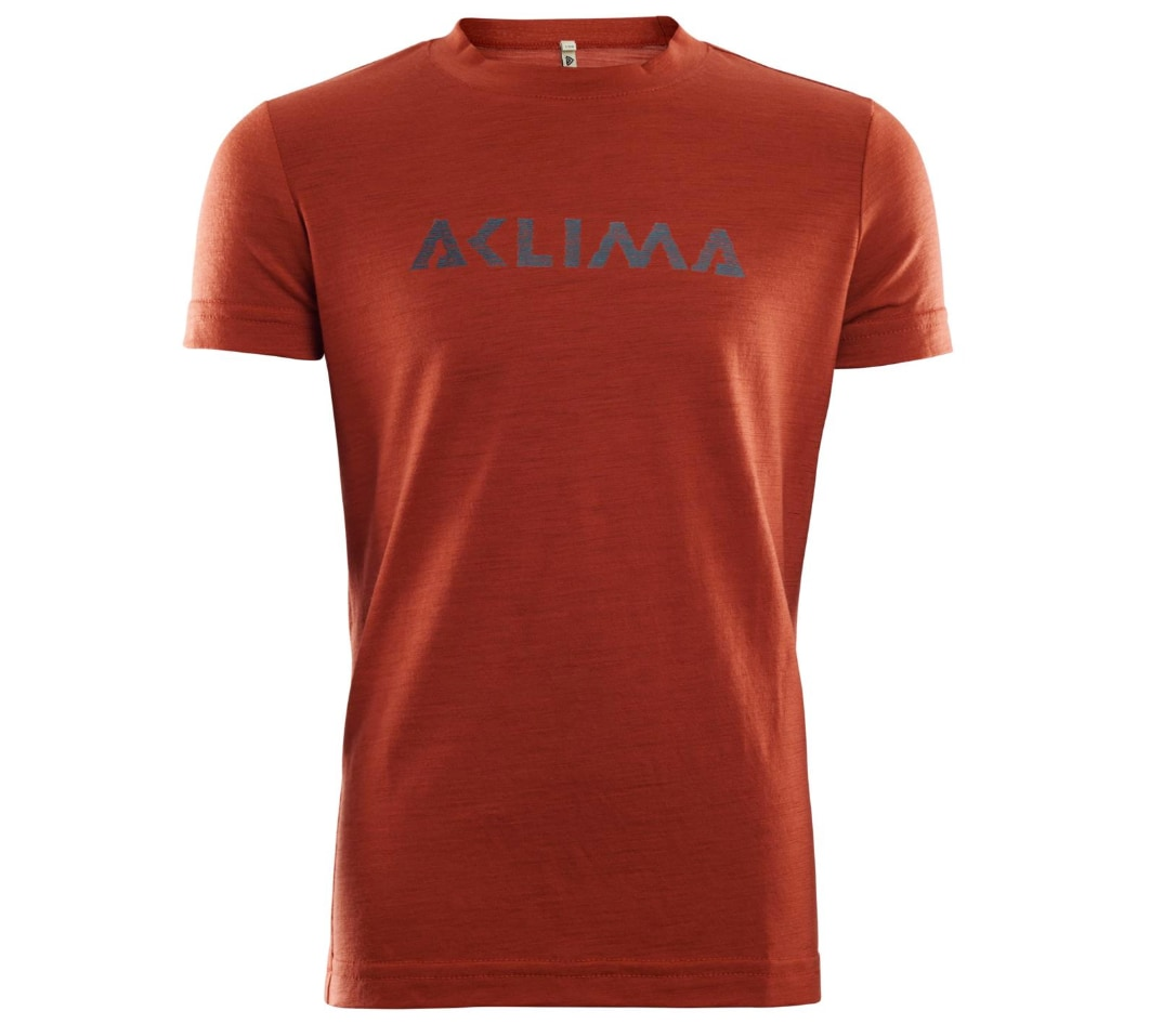 Aclima LightWool T-shirt Logo Junior