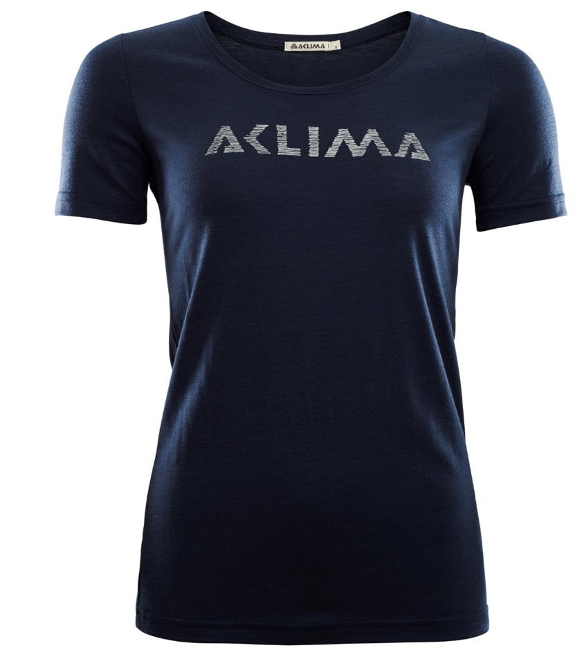 Aclima LightWool T-shirt Logo, W's