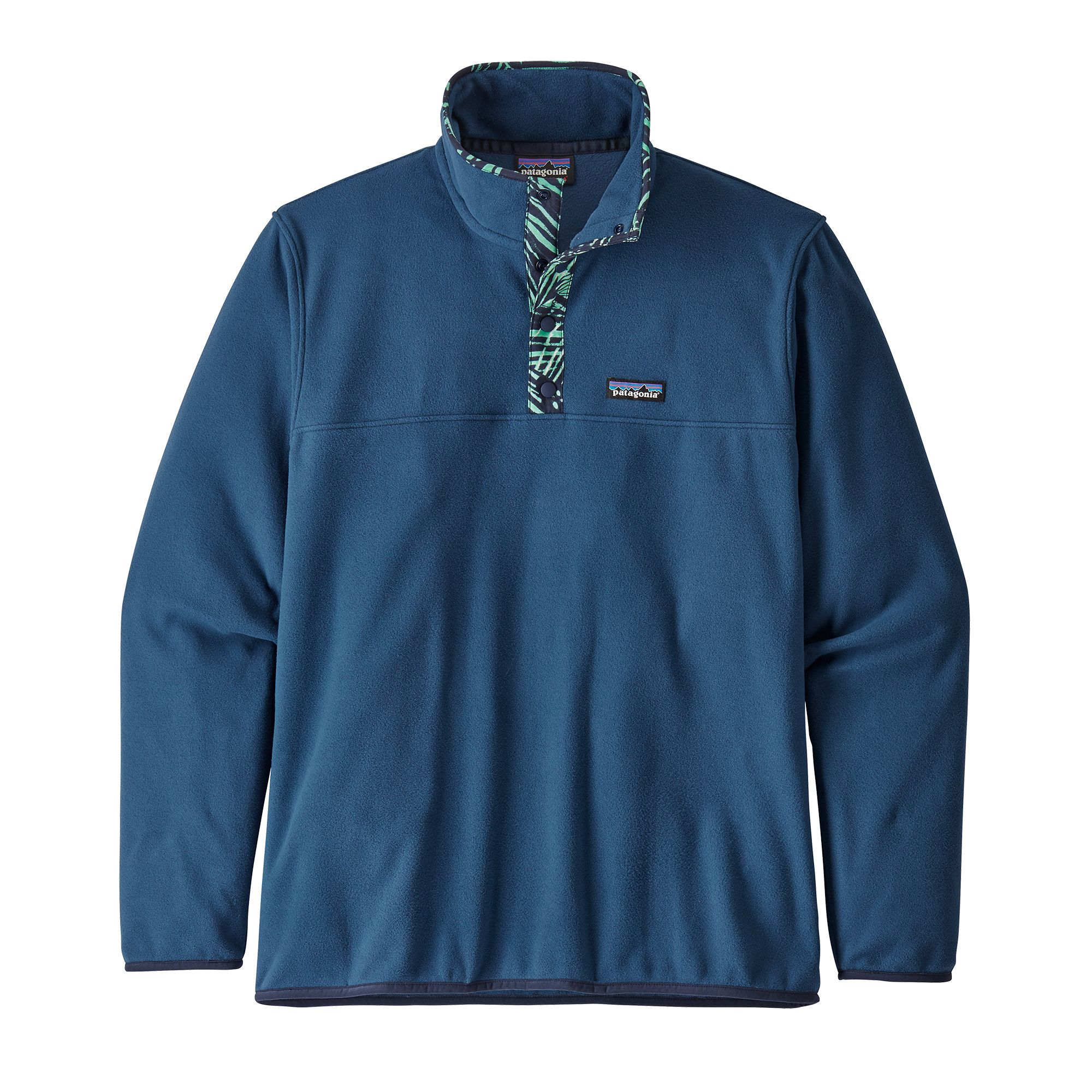 Micro D Snap-T PullOver Stone Blue