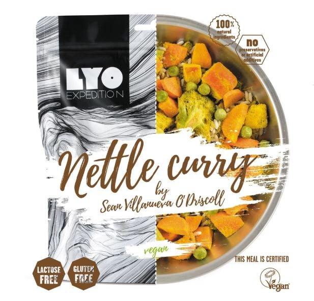 Nettle curry