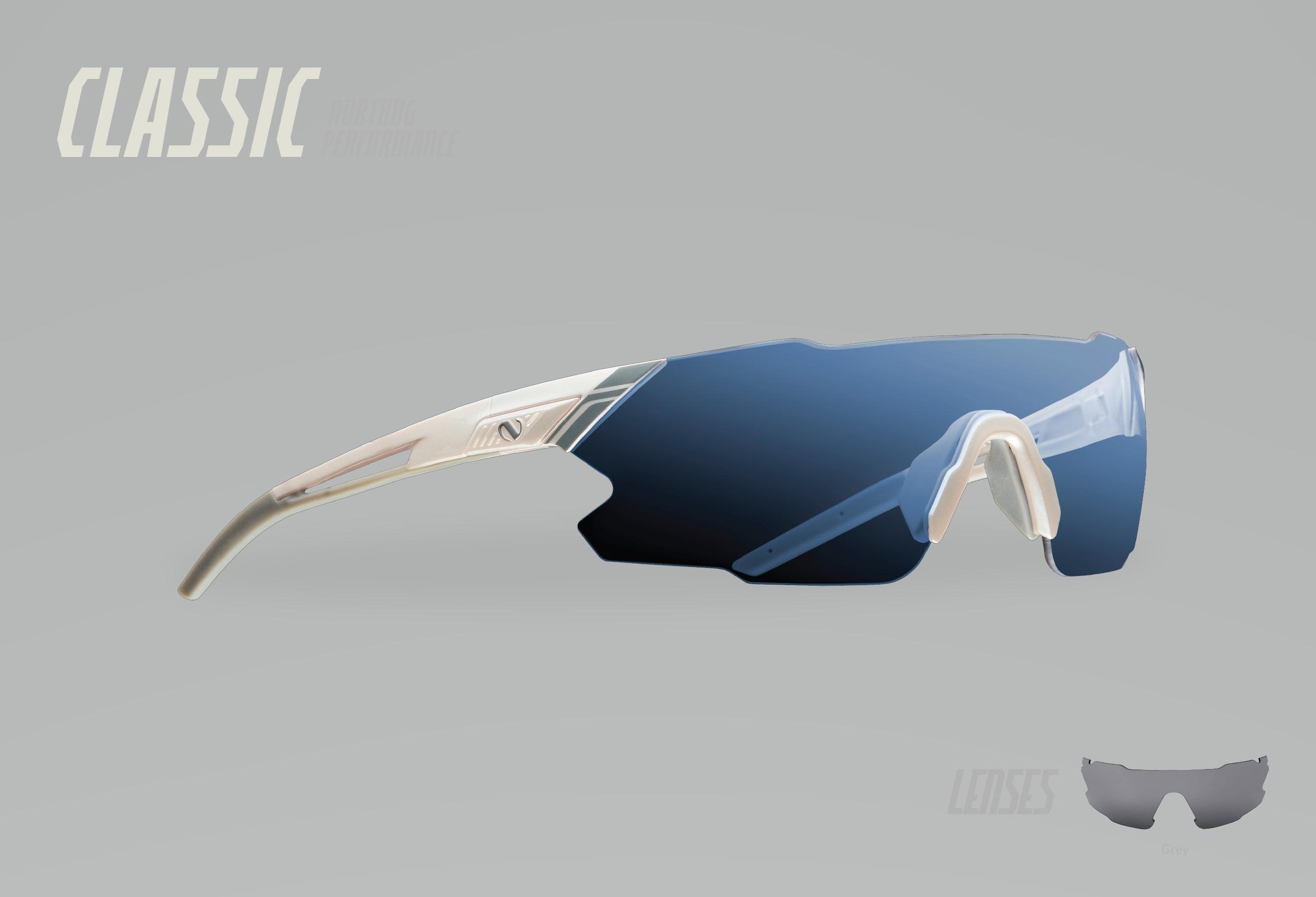 Northug Performance Classic - White/Grey