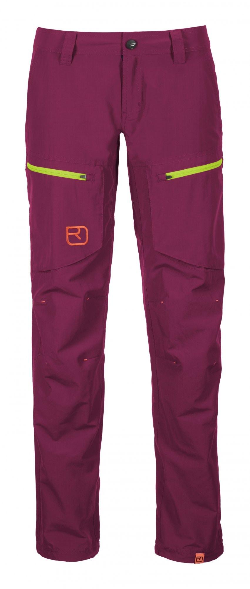 Ortovox Pants Vintage Cargo, W's, Dark Verry Berry