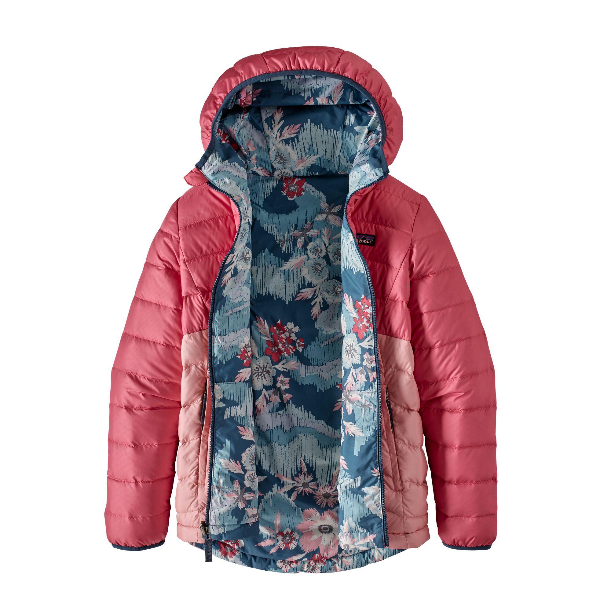 Girsl Reversible Down Sweater Hoodyt til jenter på nett