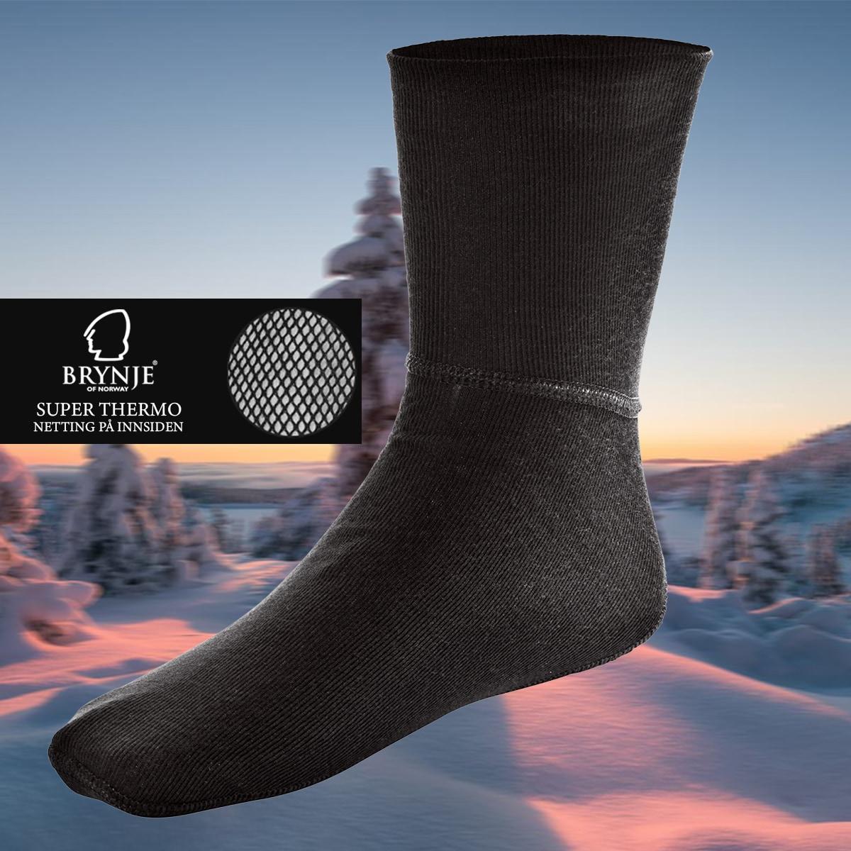 Brynje Super Thermo sock w/net lining