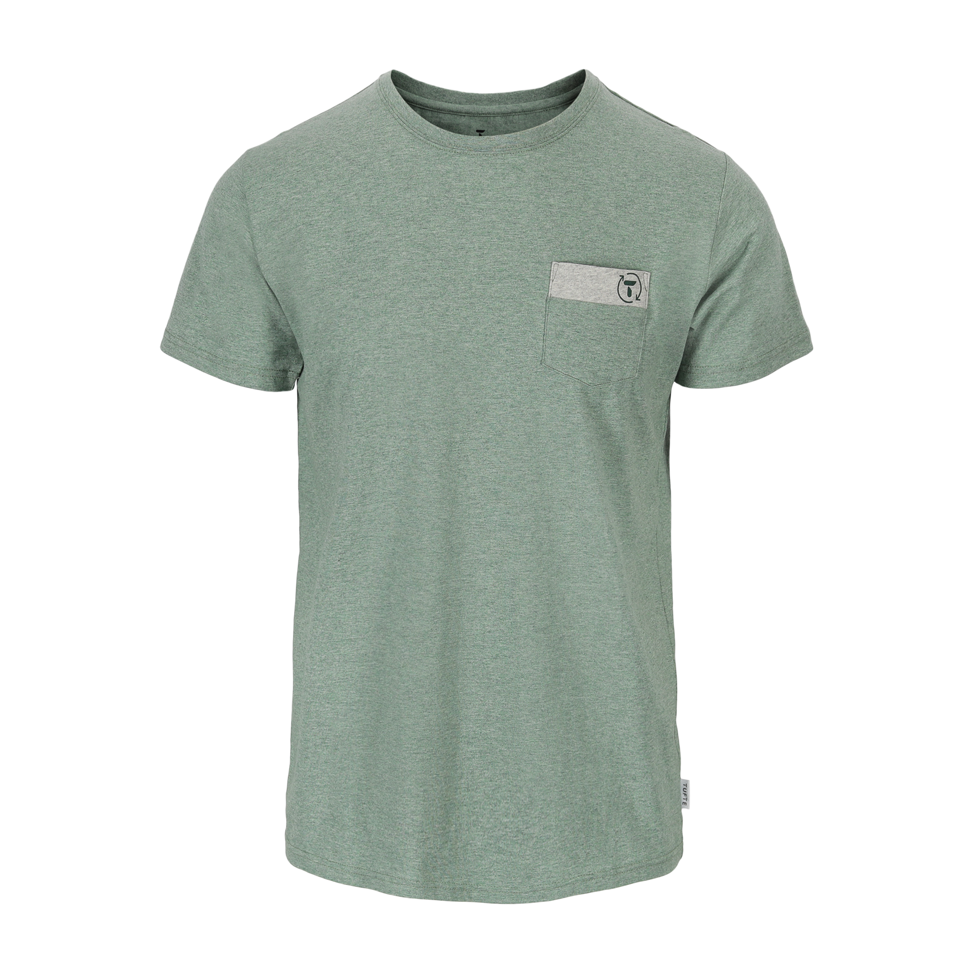 Tufte Mens Eco Green City Tee