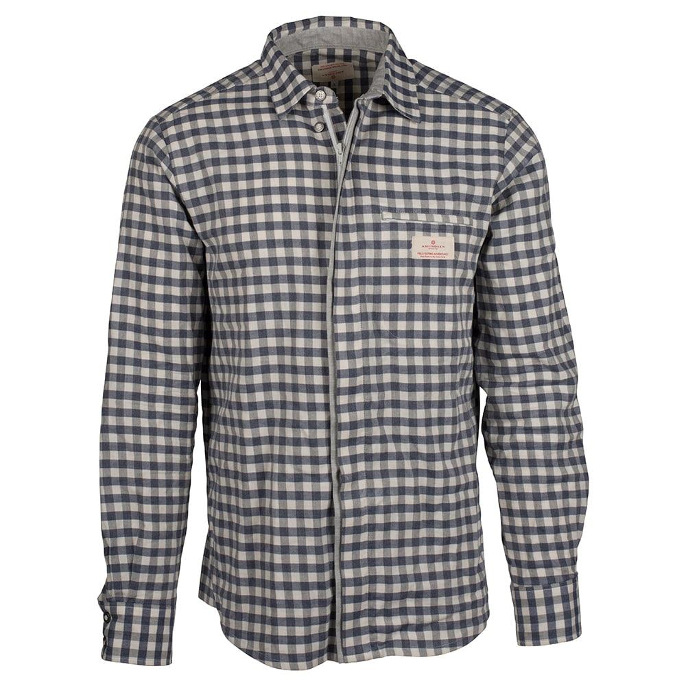Amundsen Sports Vagabond Shirt M's, Chequered Blue