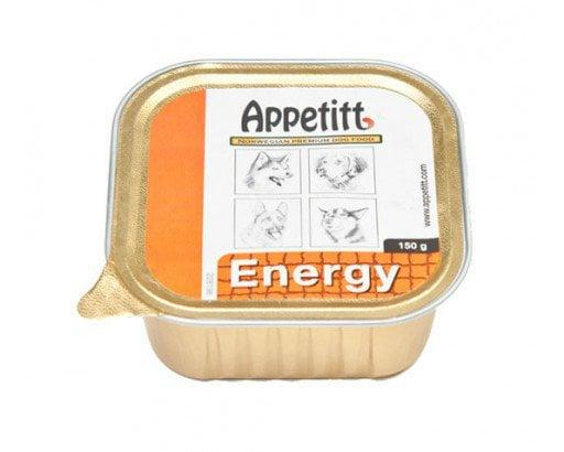 Appetitt Våtfor energy 150g